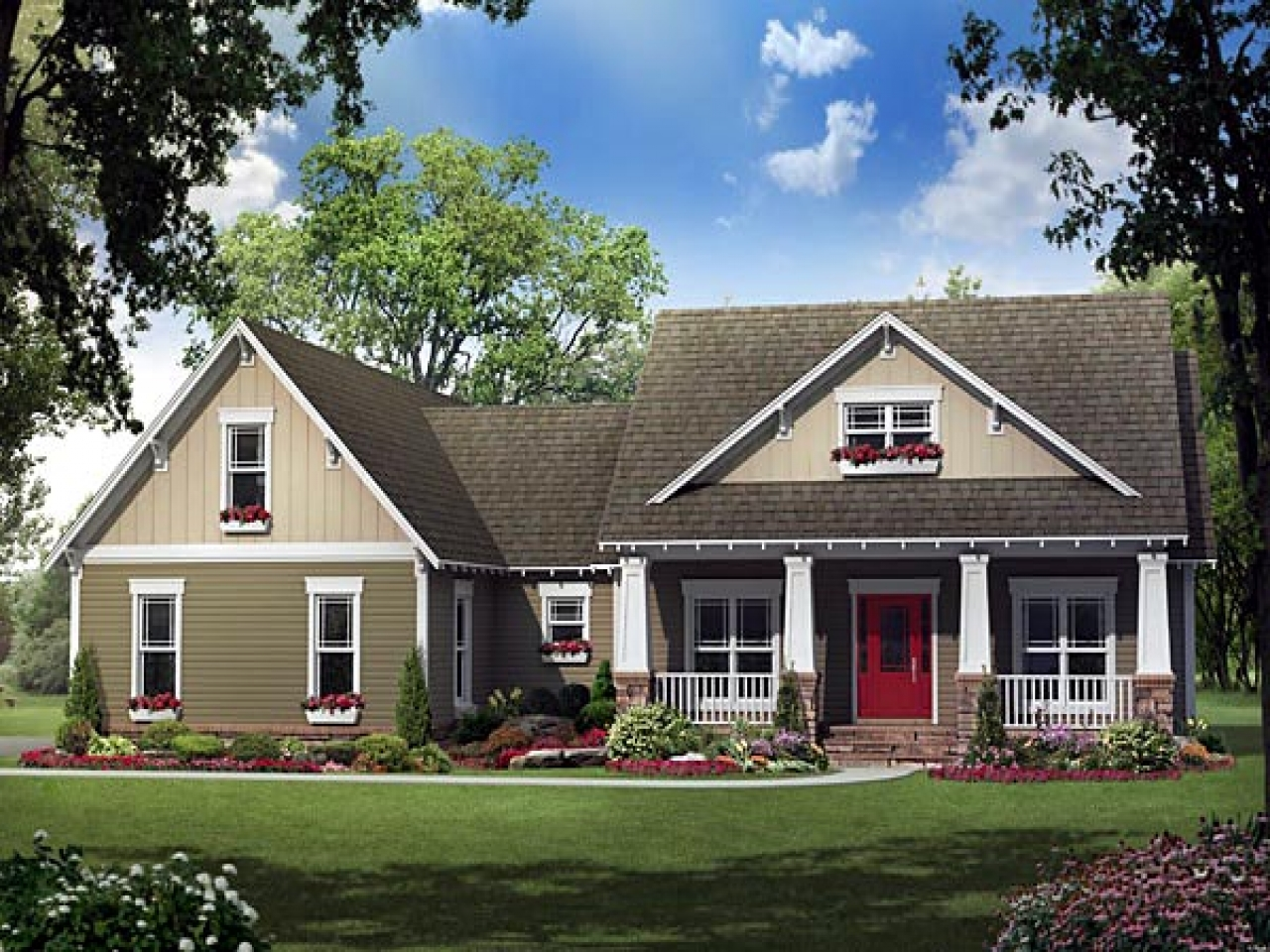 one story cottage style house plans craftsman style bungalow house plans bungalow houses with porches single story cottage plans 4109