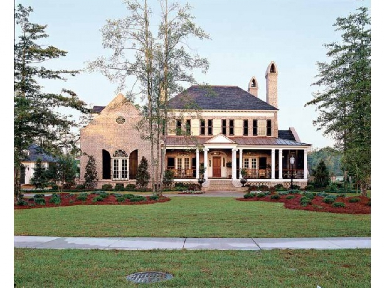House plans colonial style homes spanish colonial style for Colonial home builders