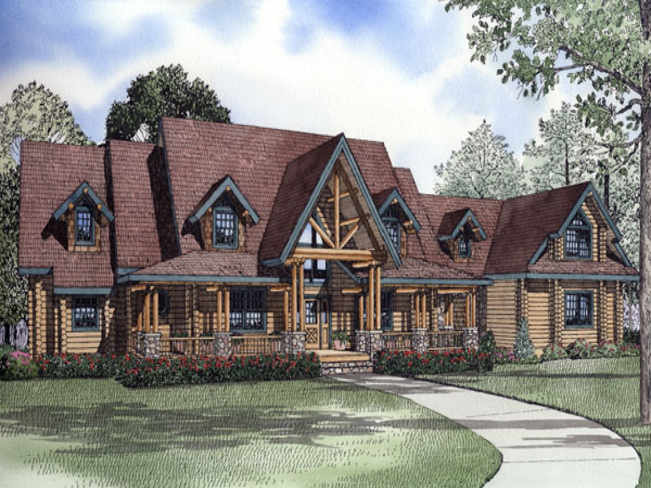 Thomas Kinkade Home Interiors Log Cabin In The Woods Luxury Log Cabin House Plans