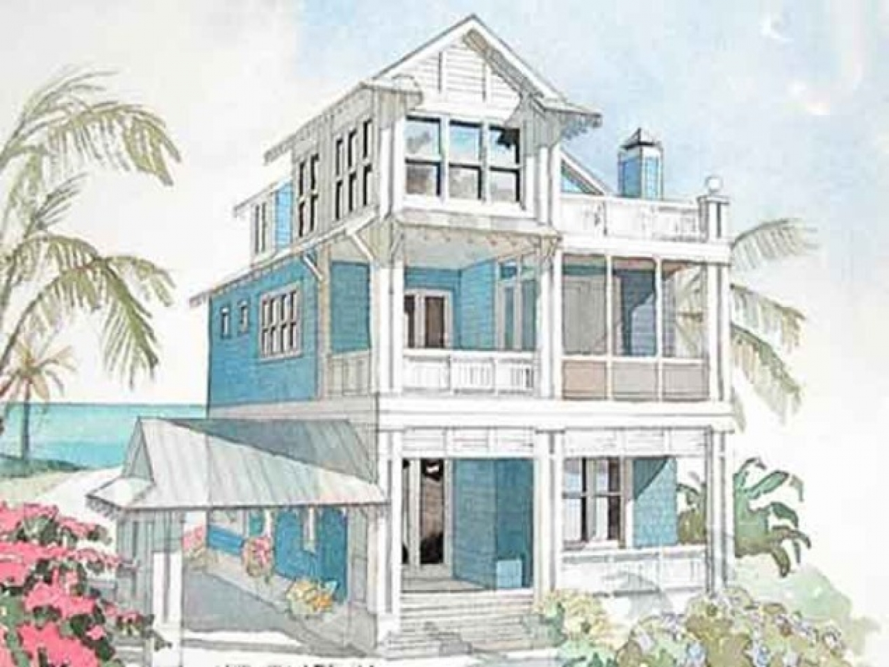 Southern living coastal house plans small cottage house for Coastal living house plans