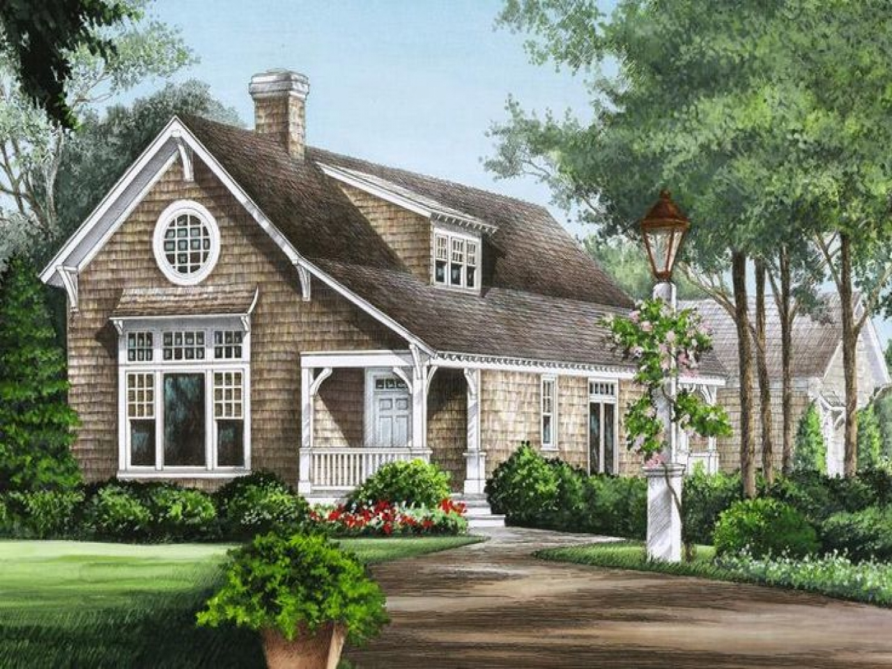 1940s cape cod house exteriors cape cod cottage house for Cape cod house plans with basement