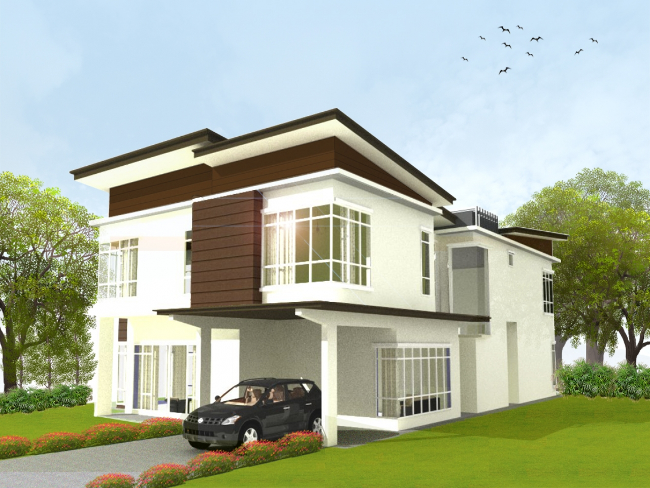 Bungalow House Designs Two Storey Bungalo 1 Design