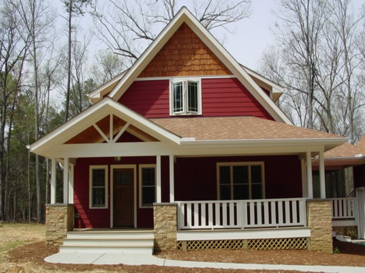 Craftsman house plans simple roof classic craftsman for Bungalow with attic house design
