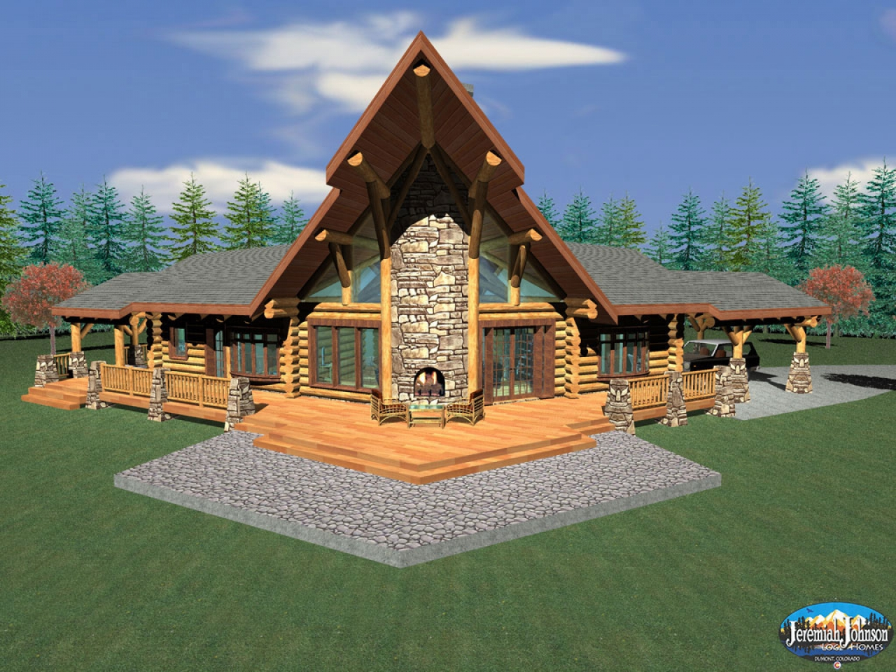 Log Home Designs Log Homes Kits Plans Custom Log Cabins