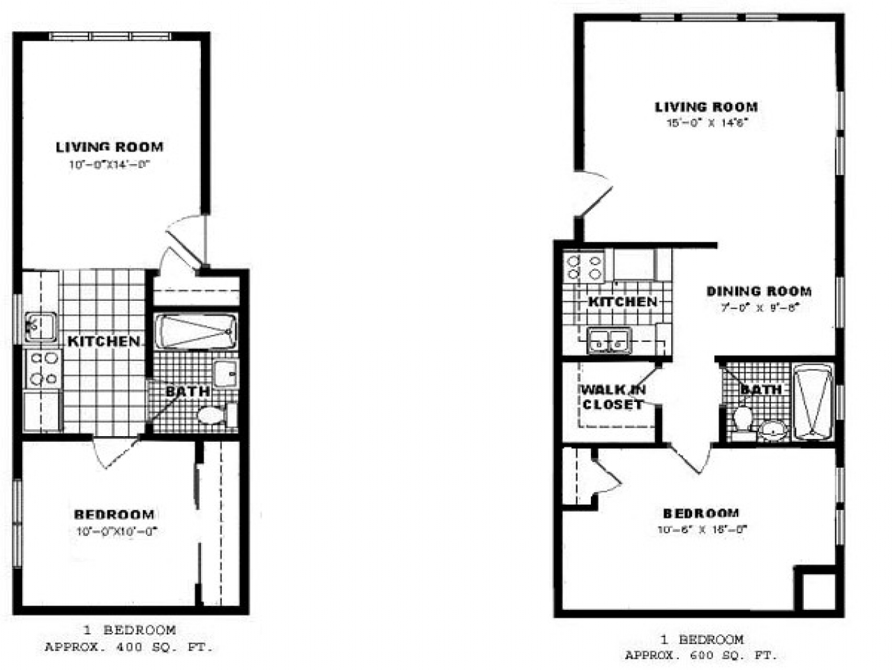 One Bedroom Apartment Floor Plan Apartments For Rent 1 Bedroom House Plans With Basement
