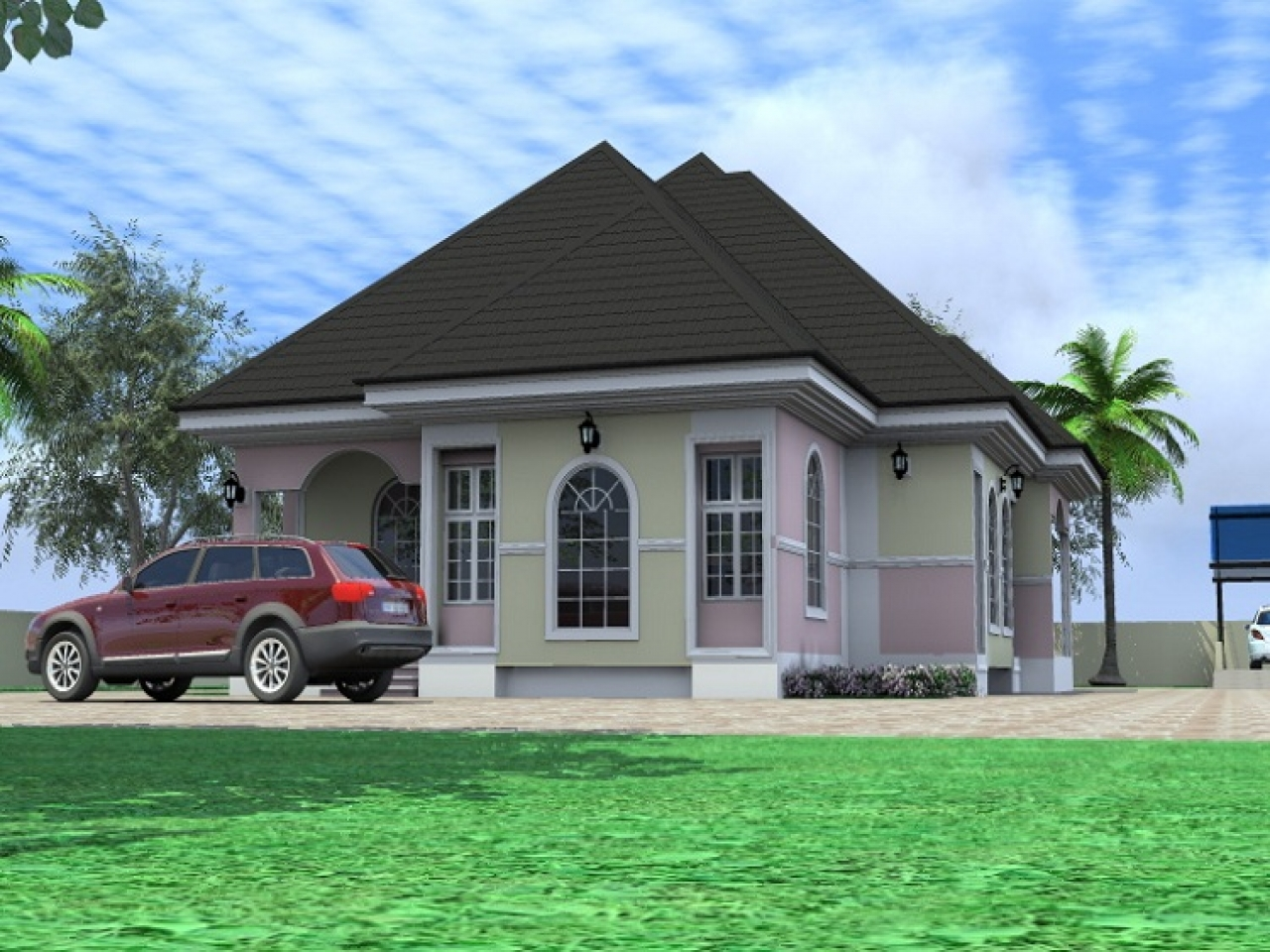 Philippines 4 bedroom bungalow architectural designs 4 for Bungalow bedroom ideas