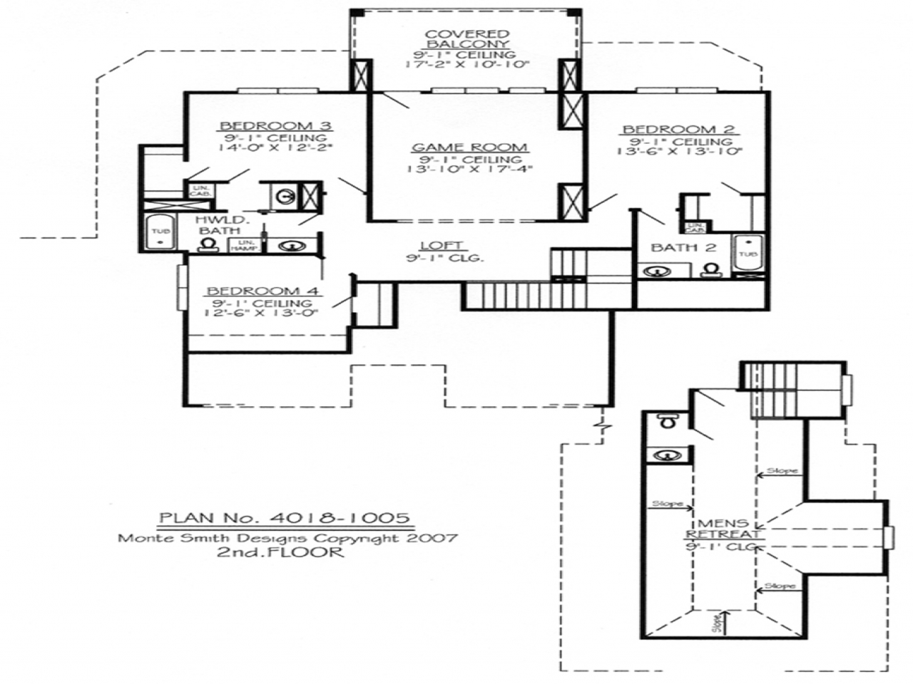 2 bedroom ranch house plans 2 bedroom house plans with for 2 bedroom house plans with loft