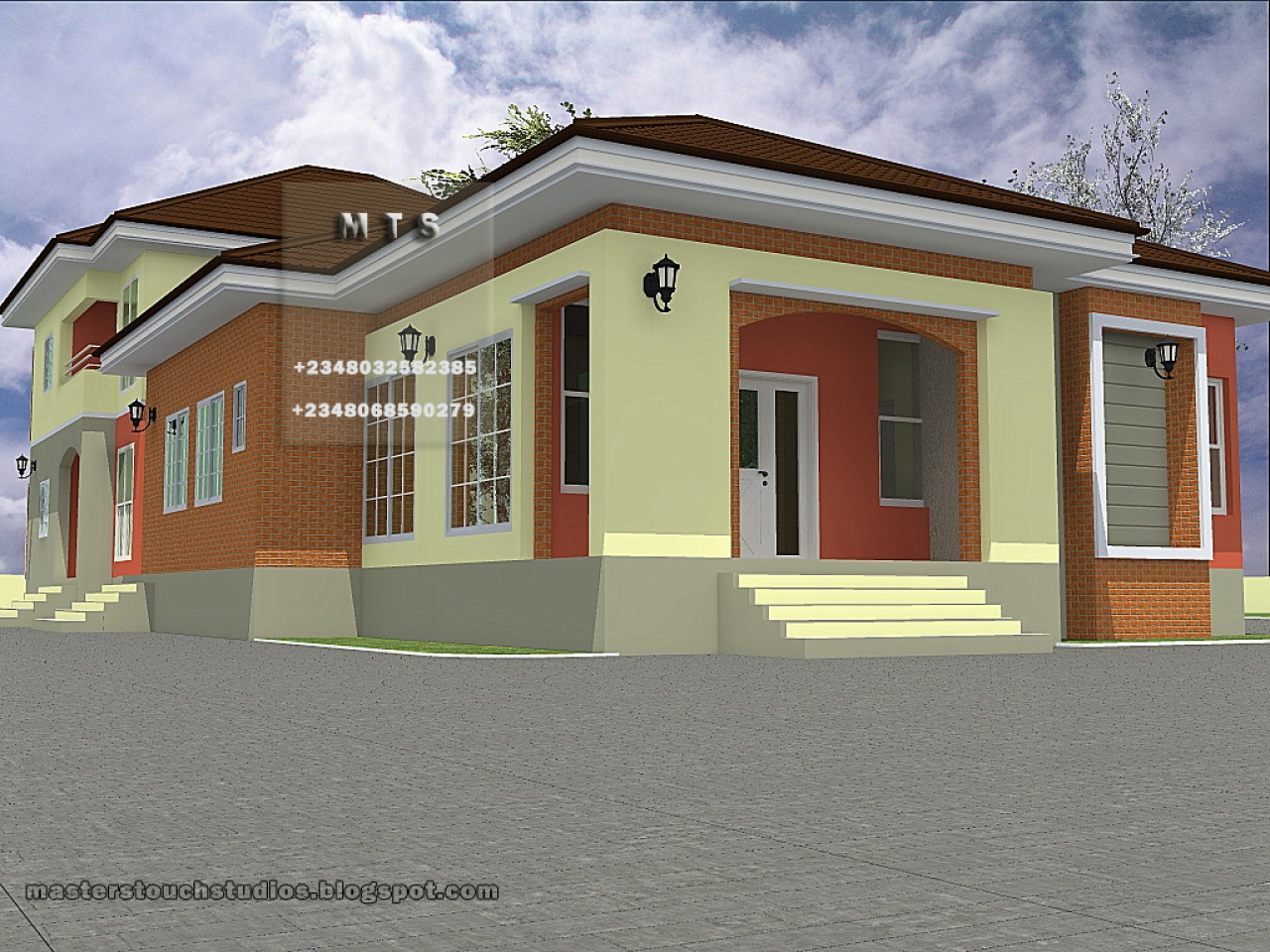 3-Bedroom Cabin Floor Plans 3 Bedroom Bungalow Designs ...