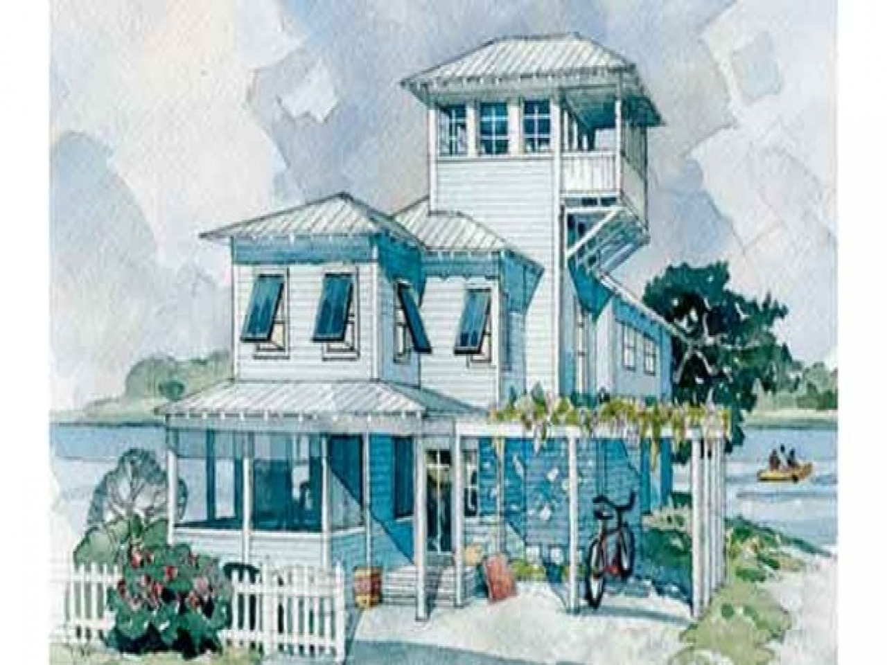 Cottage Coastal Living House Plans Coastal Living Cottage: coastal living house plans