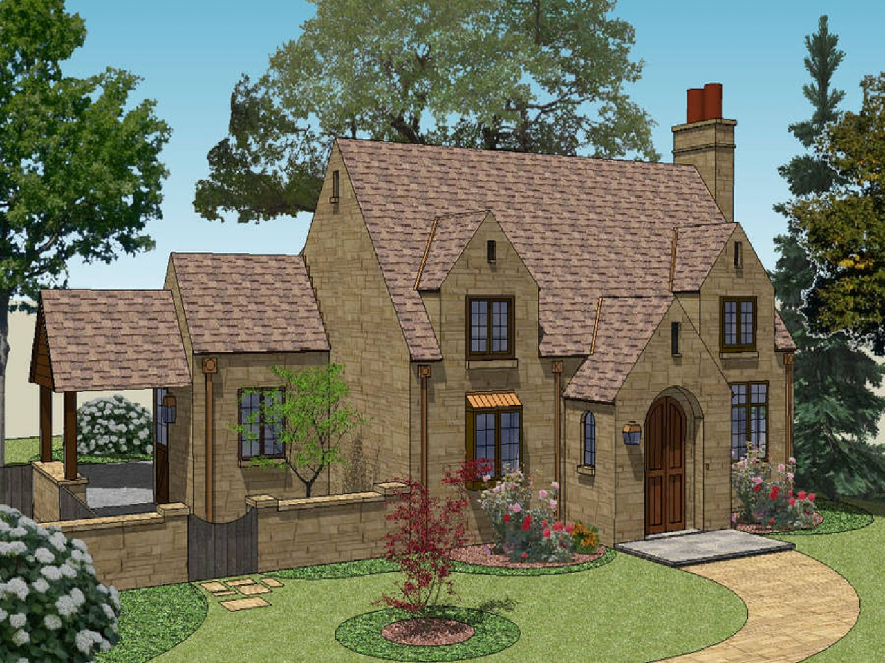 Fairy tale cottage house plans english cottage house plans for Fairytale cottage home plans