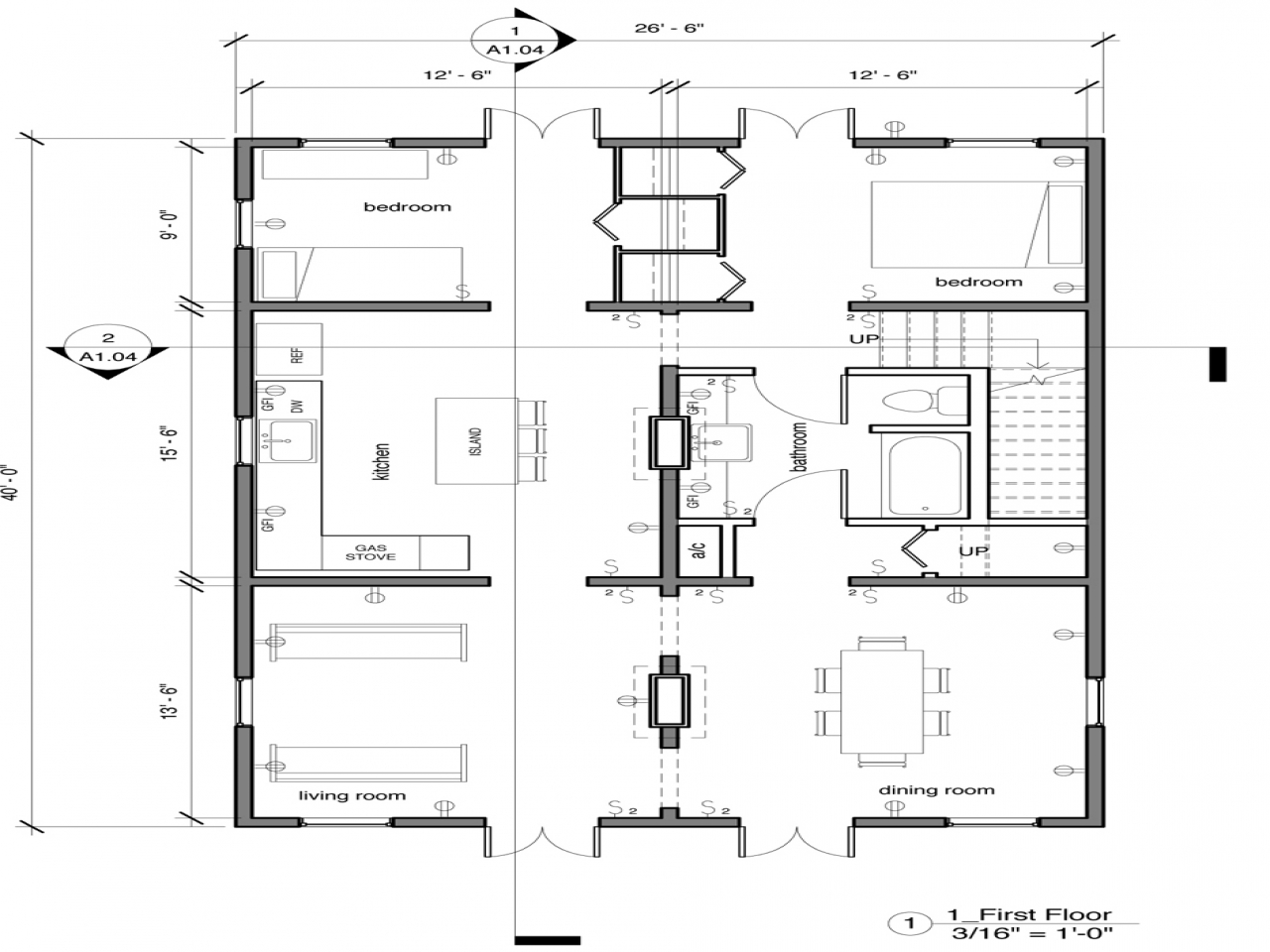 French quarter new orleans new orleans creole cottage for French cottage floor plans