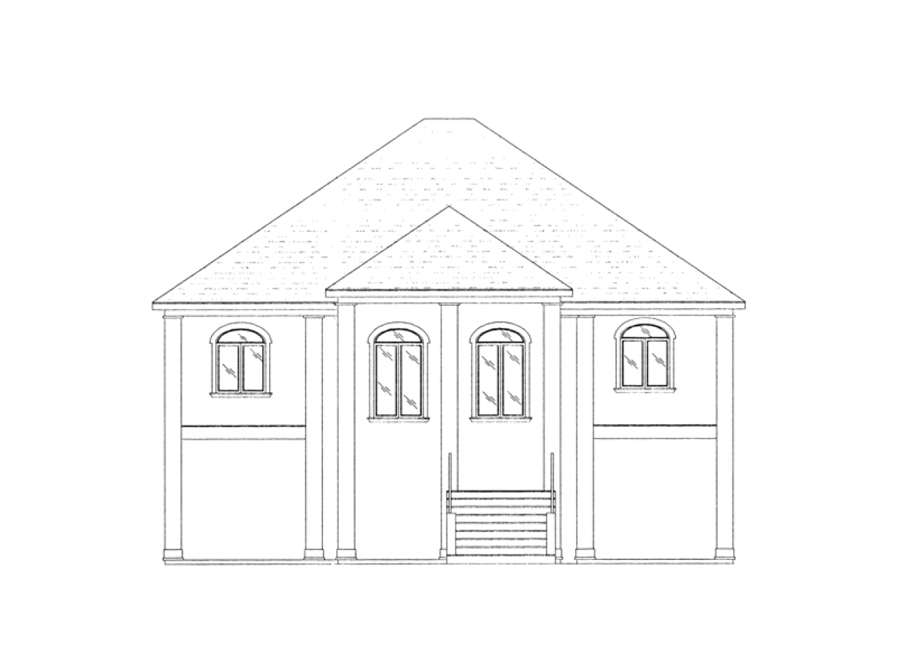 Home plans raised beach house home plans with elevators for Home plans with elevators