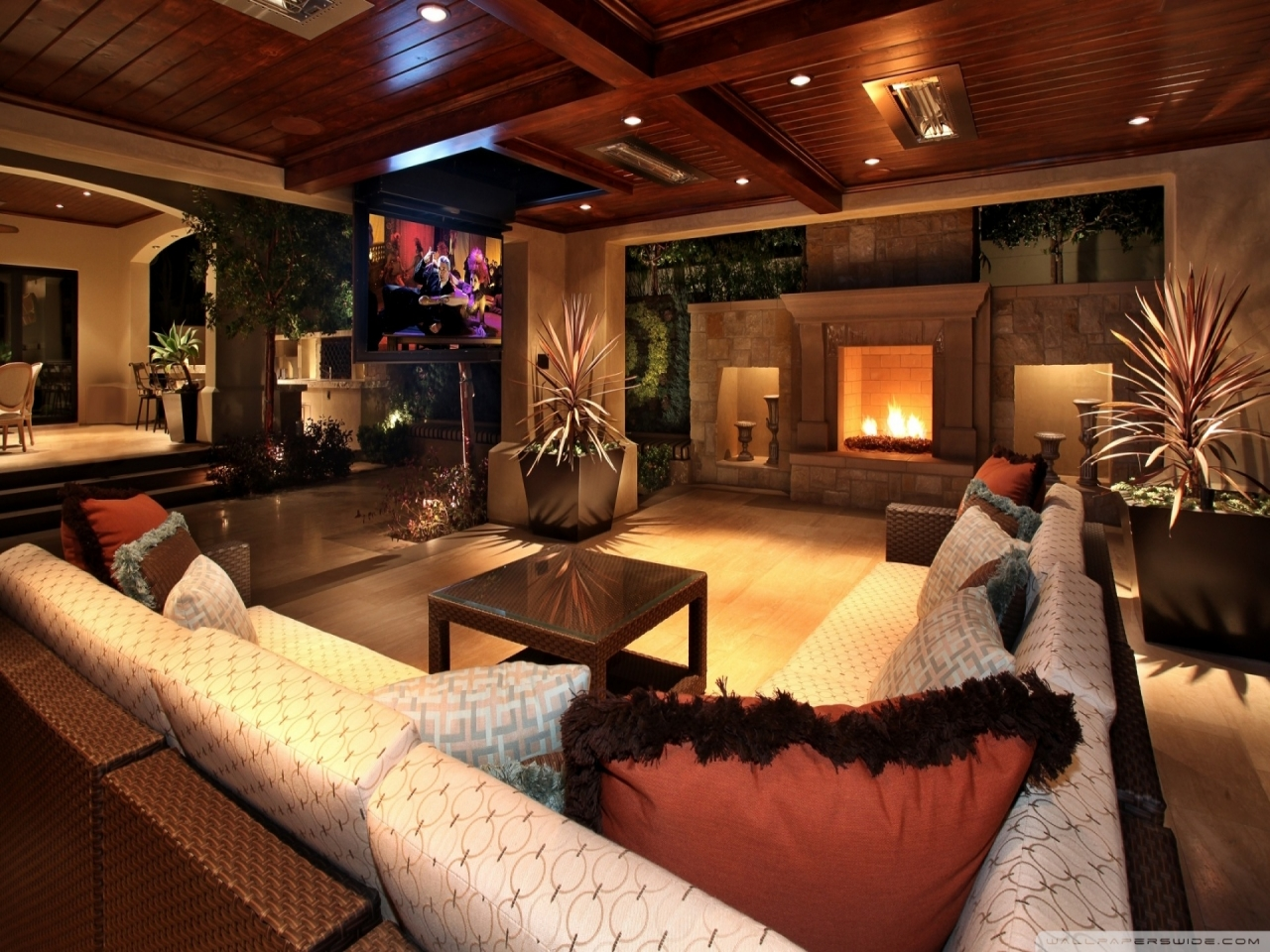 Family House Interior Living Rooms