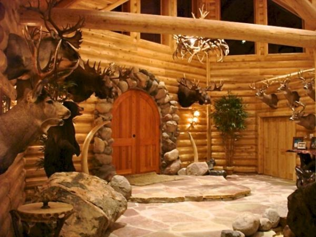 Marie log home 20 home design garden architecture blog for Log homes magazine