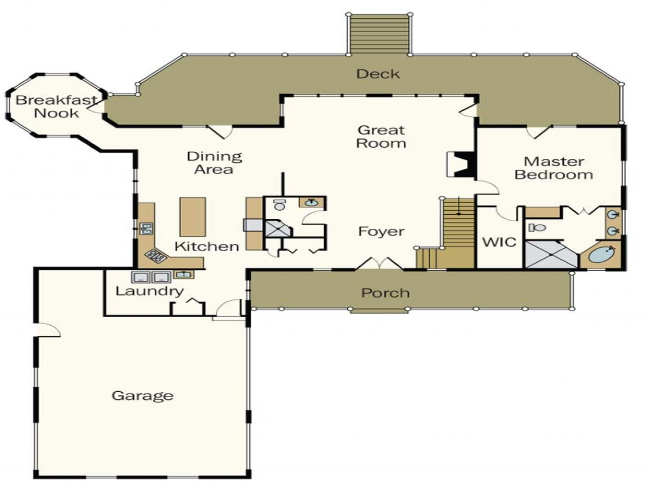 Modern log cabin homes floor plans log cabin home designs for Contemporary log home plans