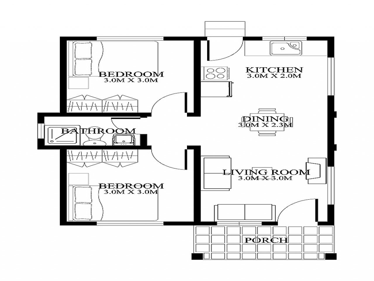 Small house floor plans and designs very small house plans for Very small home plans