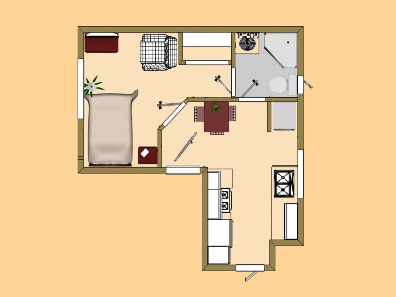 Tiny house floor plans inside tiny houses micro home plans free for Micro home designs