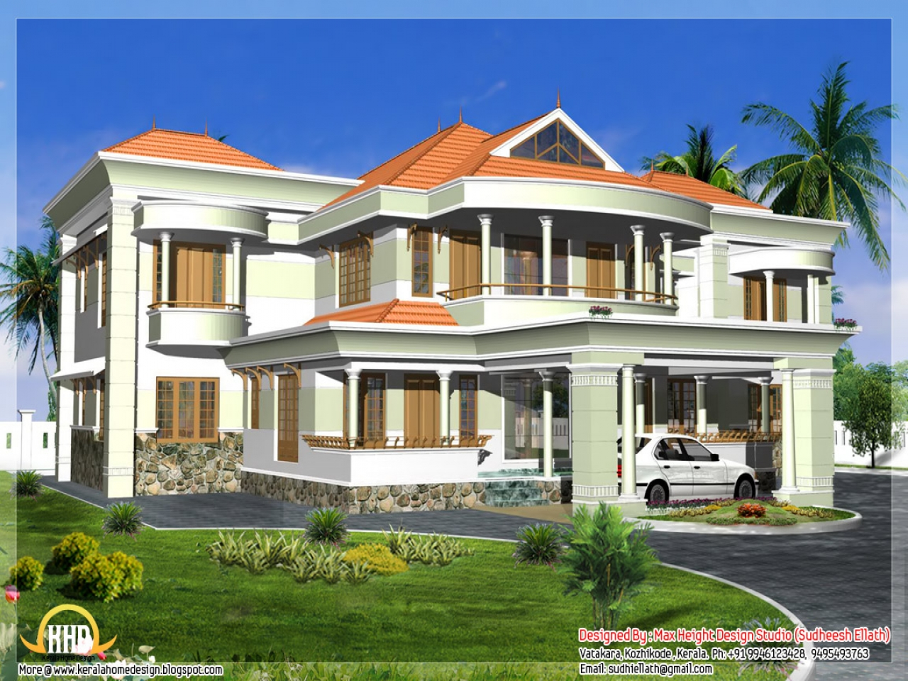 Traditional kerala house designs indian style house design for Sweet home designs indian style