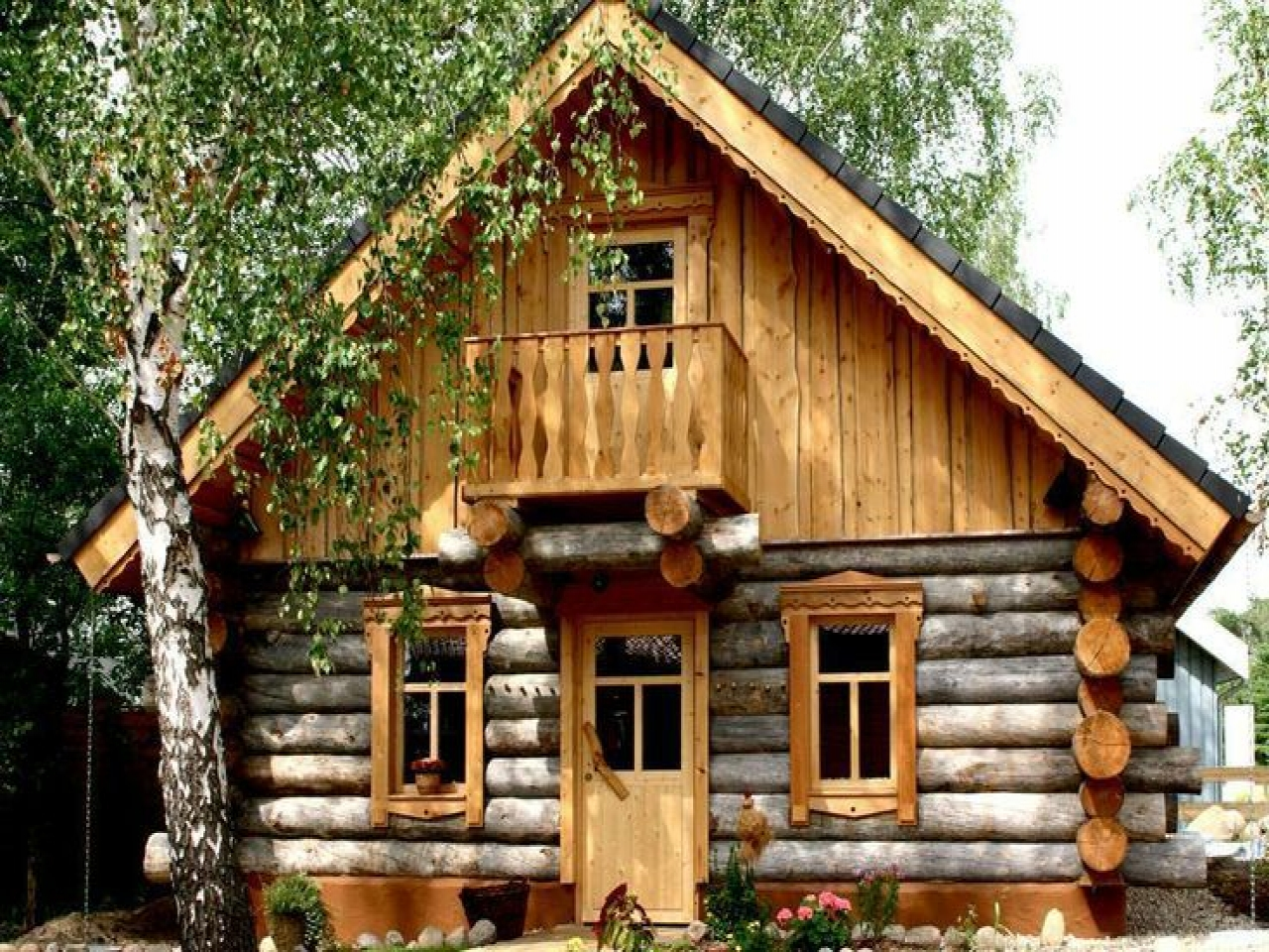 Gorgeous Rustic Log Cabin Log Cabin In The Woods Rustic