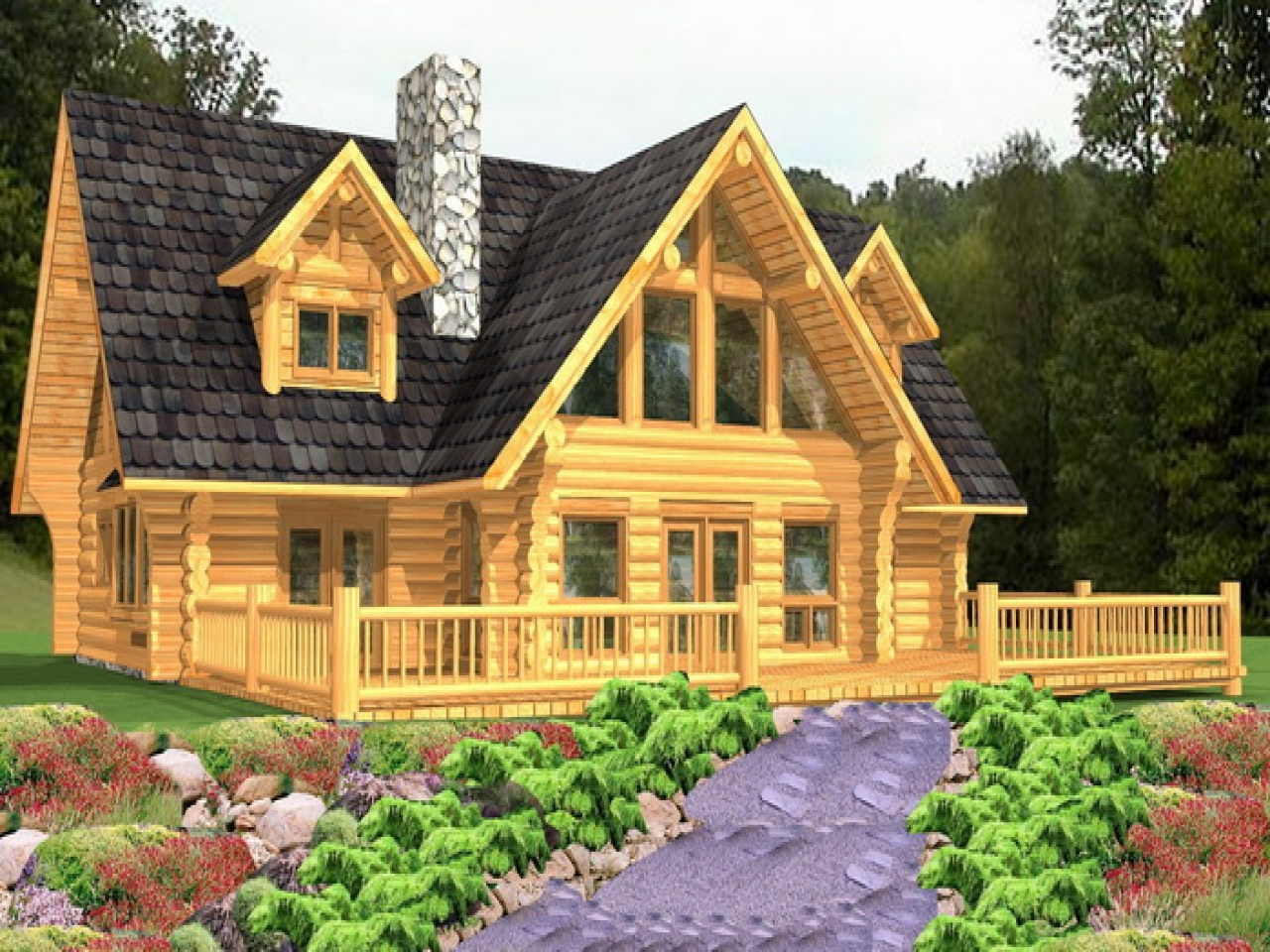 Luxury log cabin home floor plans luxury log cabin homes for Bc home plans