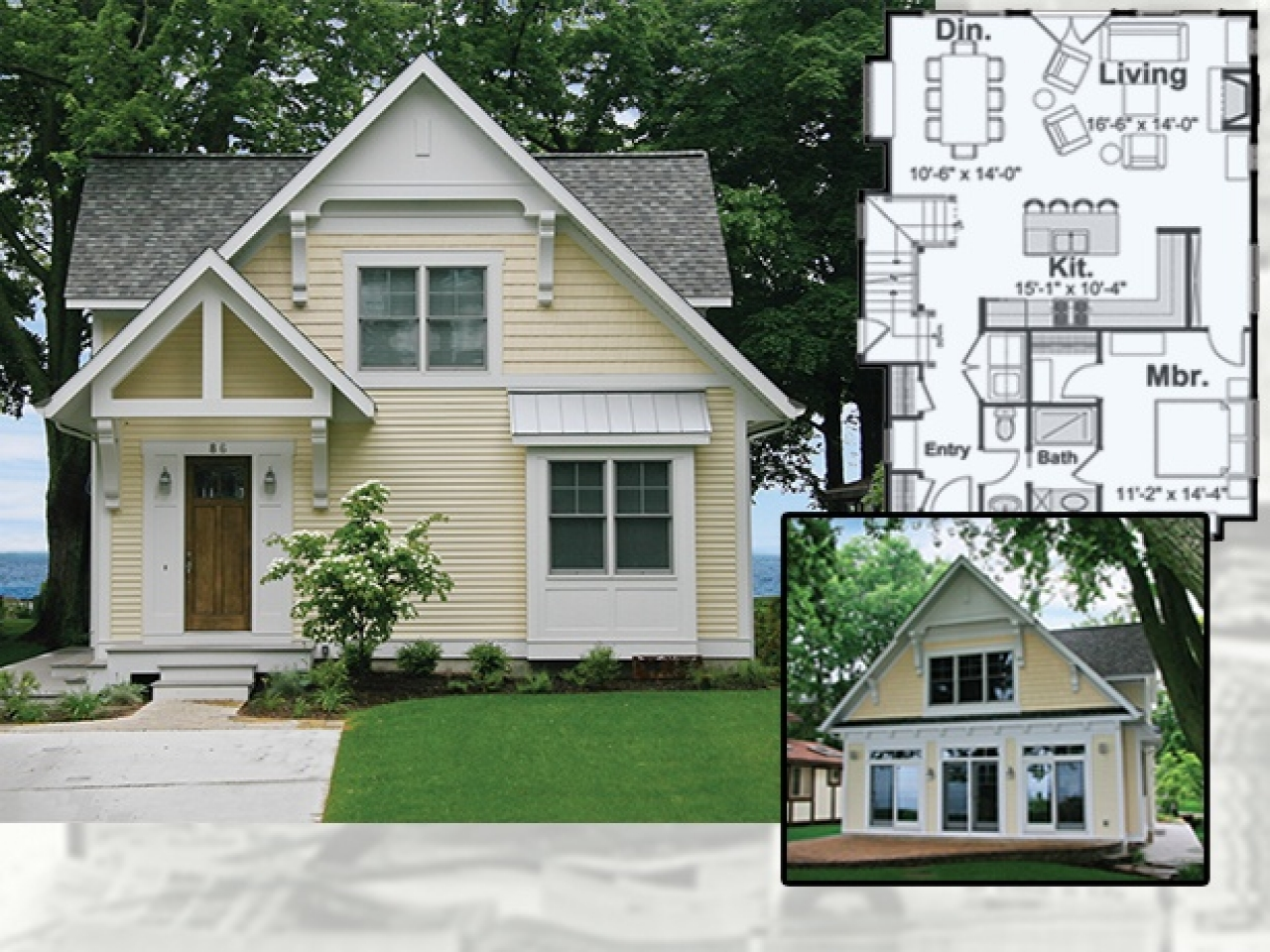 Tiny House Floor Plans Small Cabins Tiny Houses Small: Small Victorian Cottage Jamestown RI Small Victorian