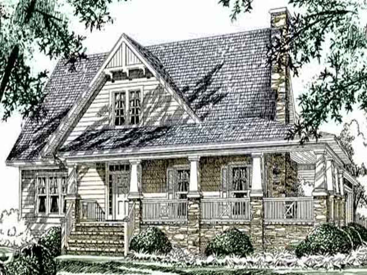 Southern living cottage style house plans small cottage for Southern living cottage floor plans