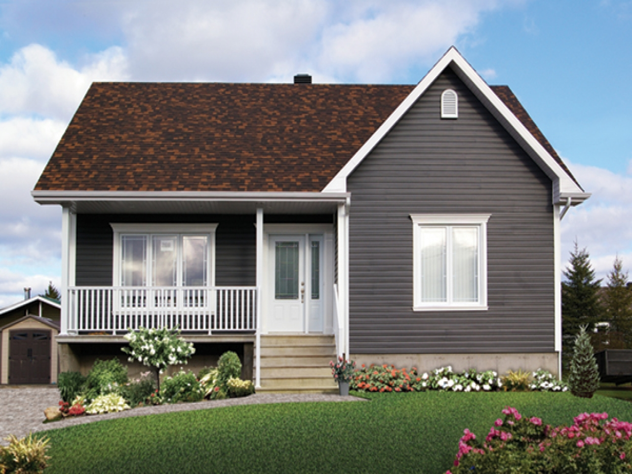 Treecrest ranch bungalow home plan 032d 0726 house plans for California ranch house plans
