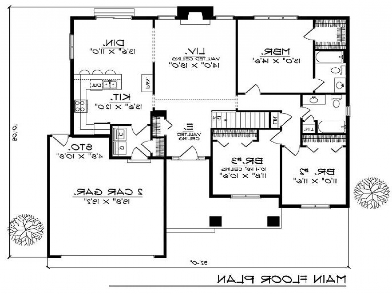 2 bedroom caribbean house plans 2 bedroom duplex house for 7 bedroom house plans