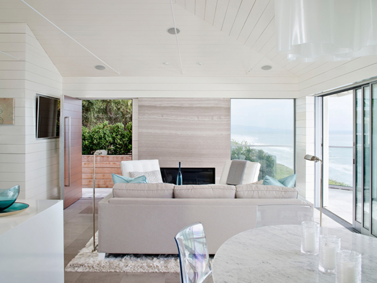 Beach House Interior Design Photos: Beach Bungalow Interior Design Small Coastal Cottage