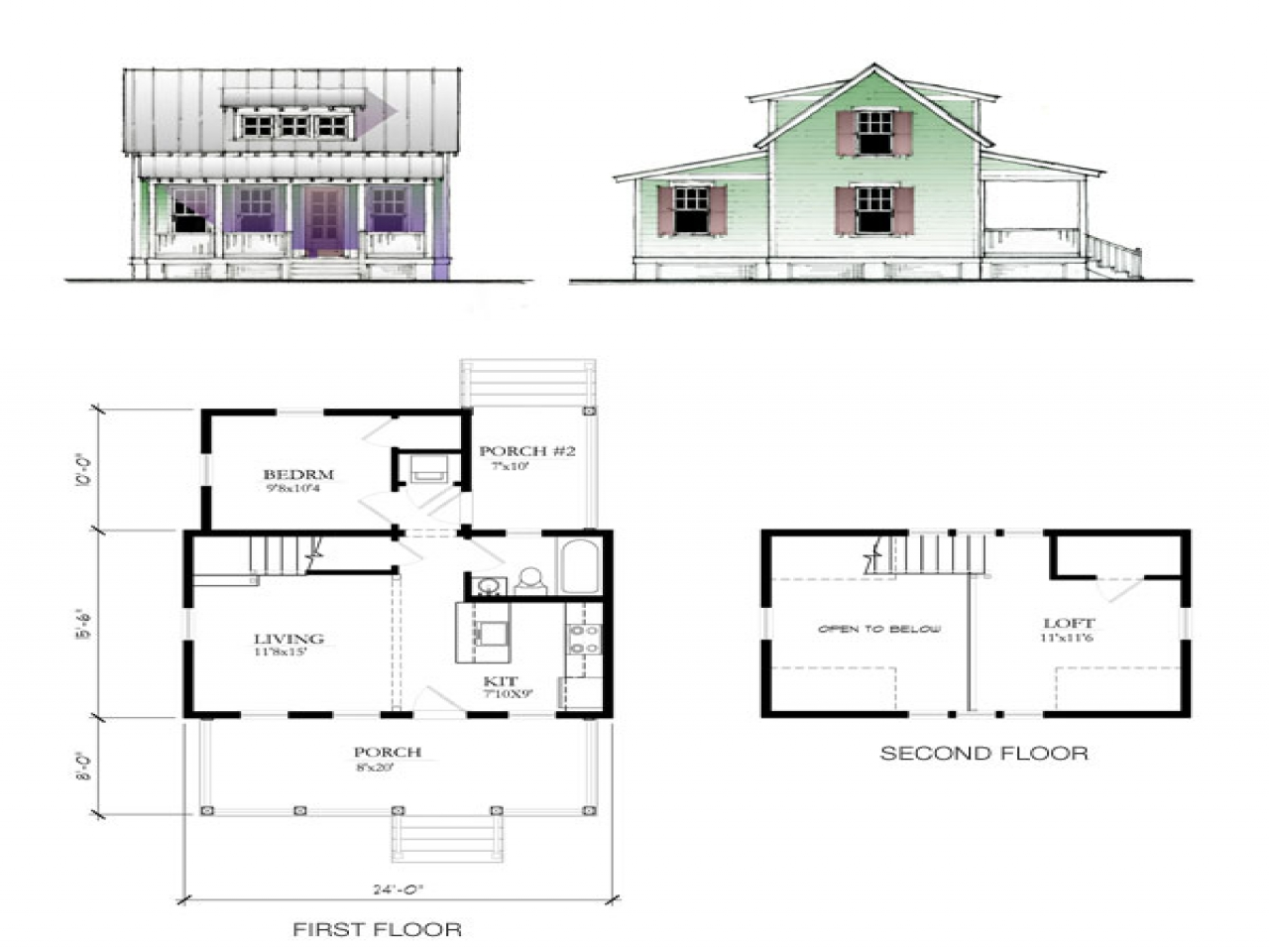 Katrina Cottage Floor Plan Katrina Cottages Prefab Small