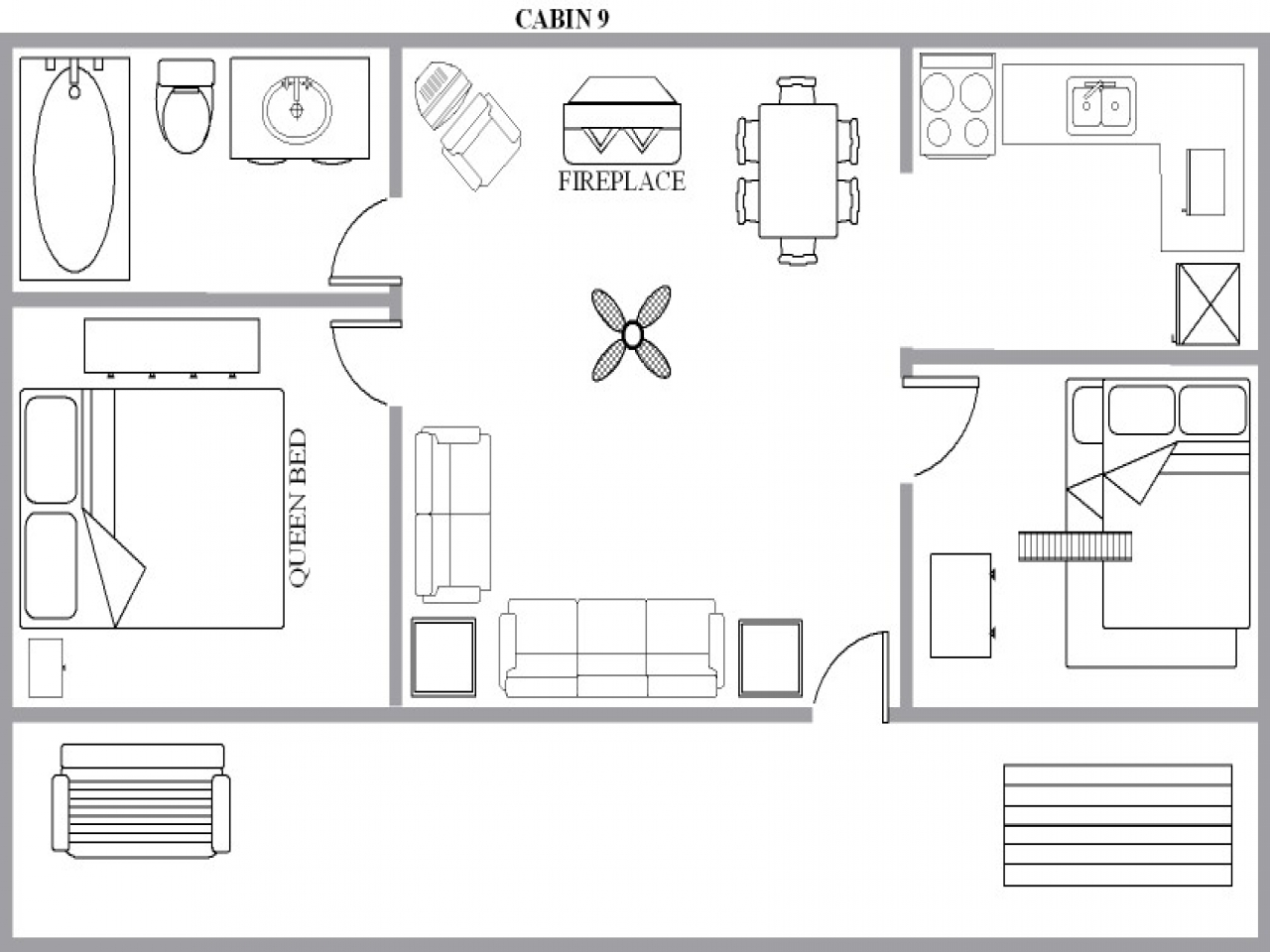 Off Grid Cabin Floor Plans Cabin House Floor Plans