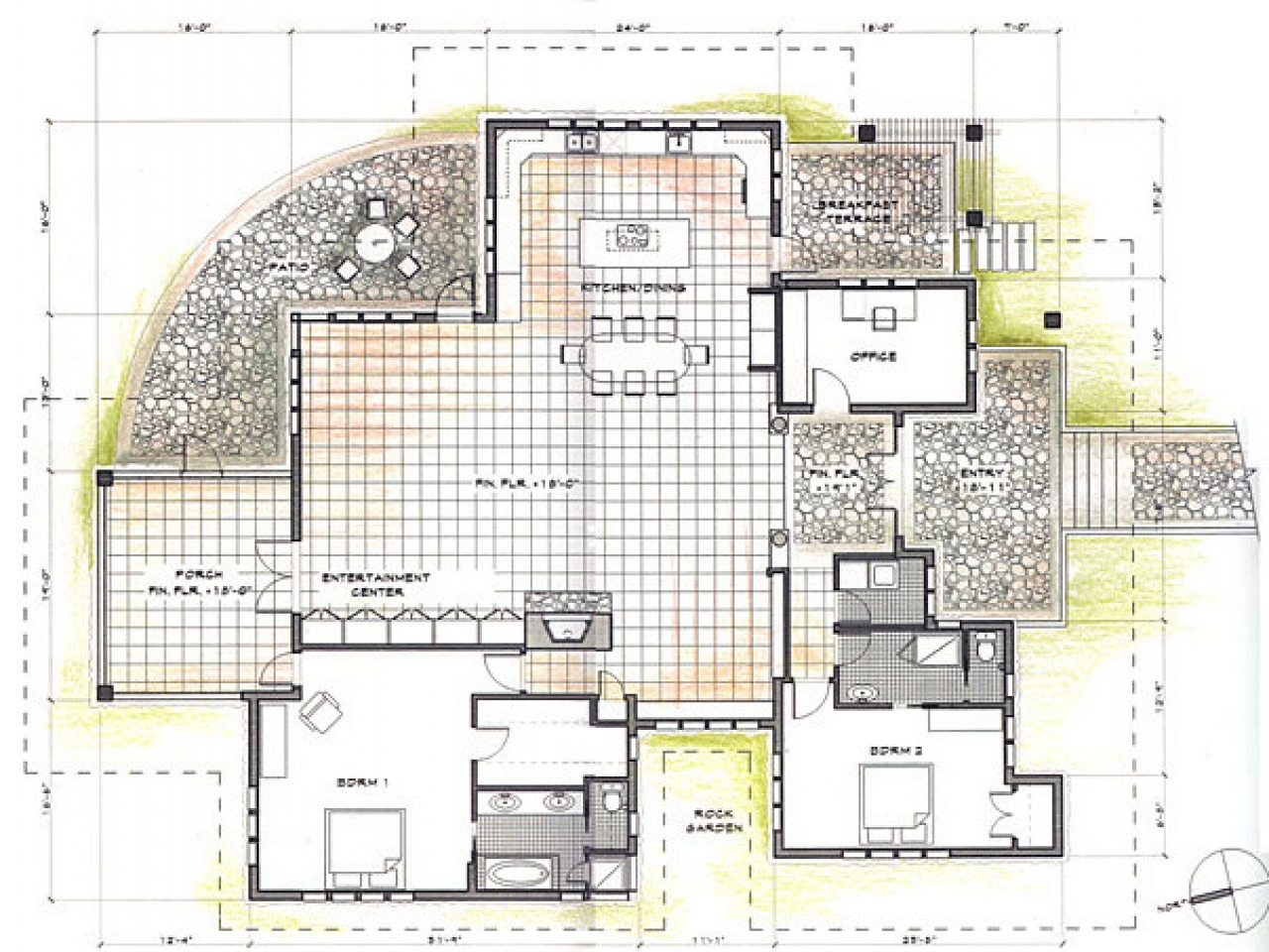 Tropical house design architecture tropical house designs for Tropical style house plans