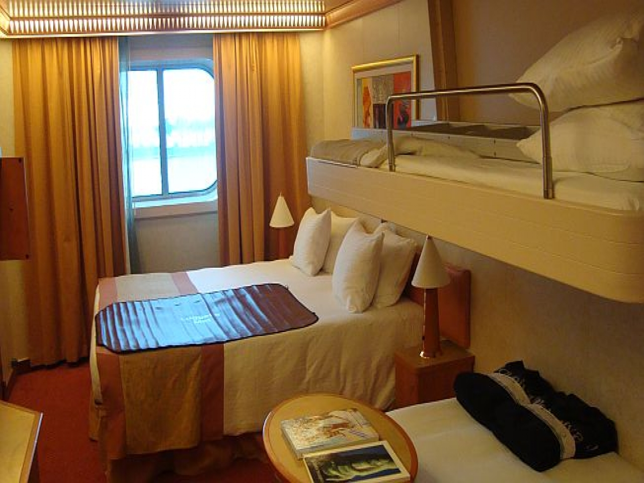 Carnival Liberty Cruise Ship Carnival Liberty Ocean View Rooms Carnival Stateroom Pictures