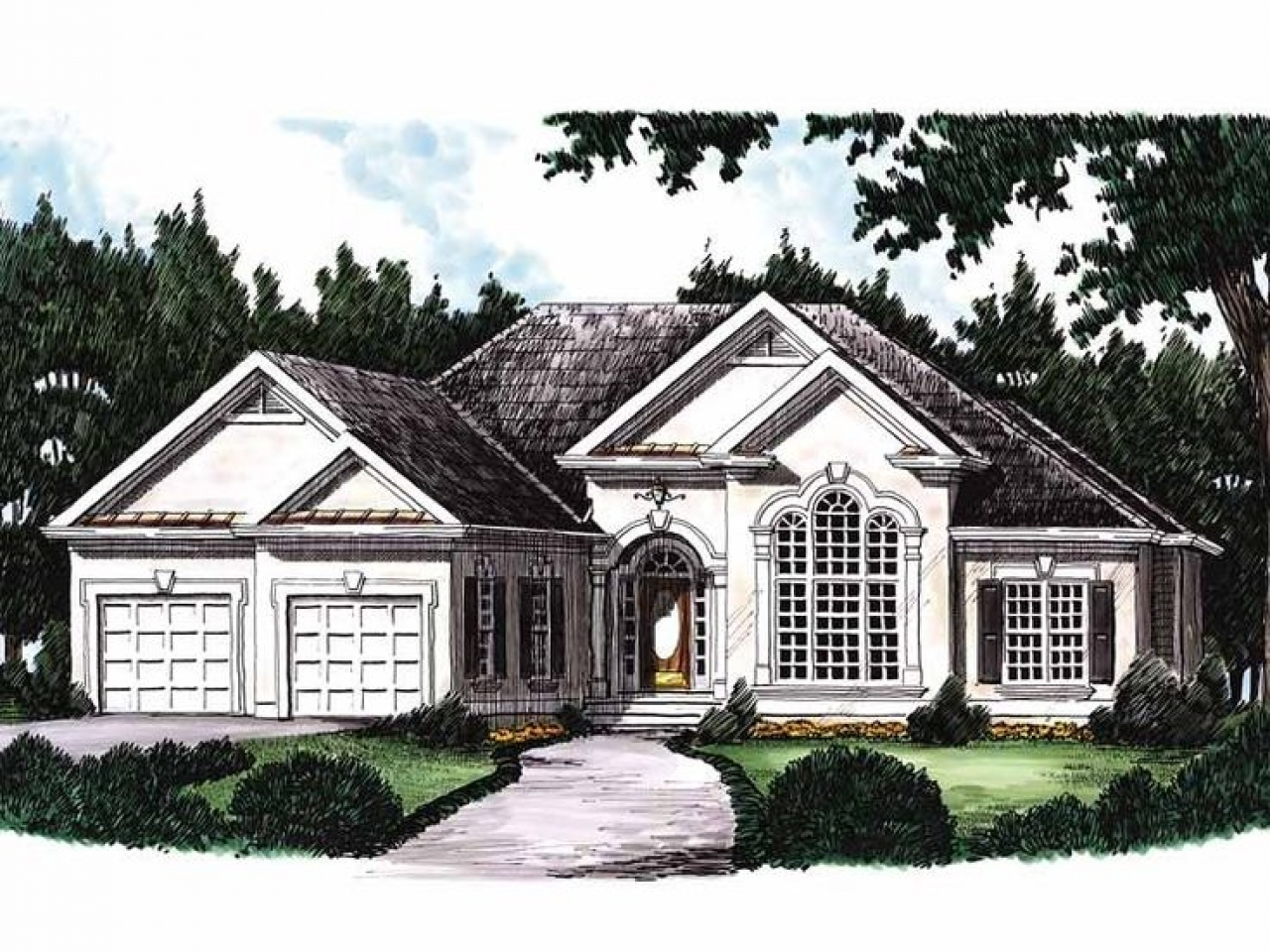 Eplans new american house plan rustic house plans 3 for Eplans house plans