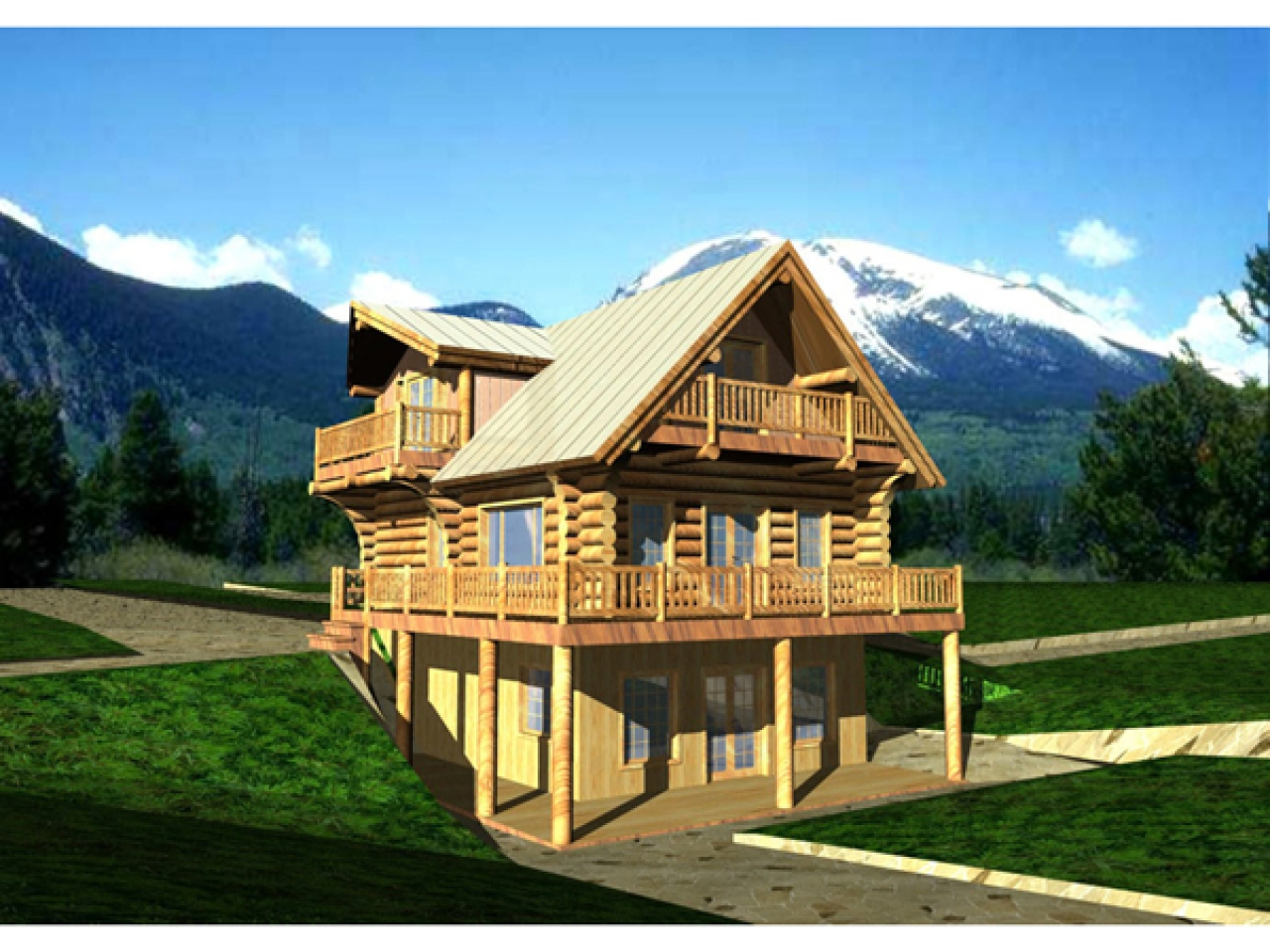 Rustic lake home house plans rustic lake house decor lake for Lake front home
