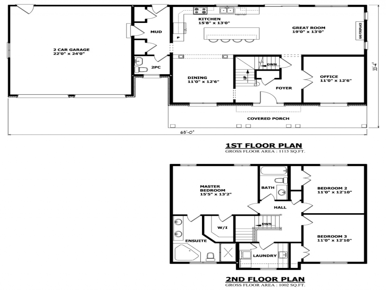 Simple two story house plans two storey house plans for Two story house plans canada
