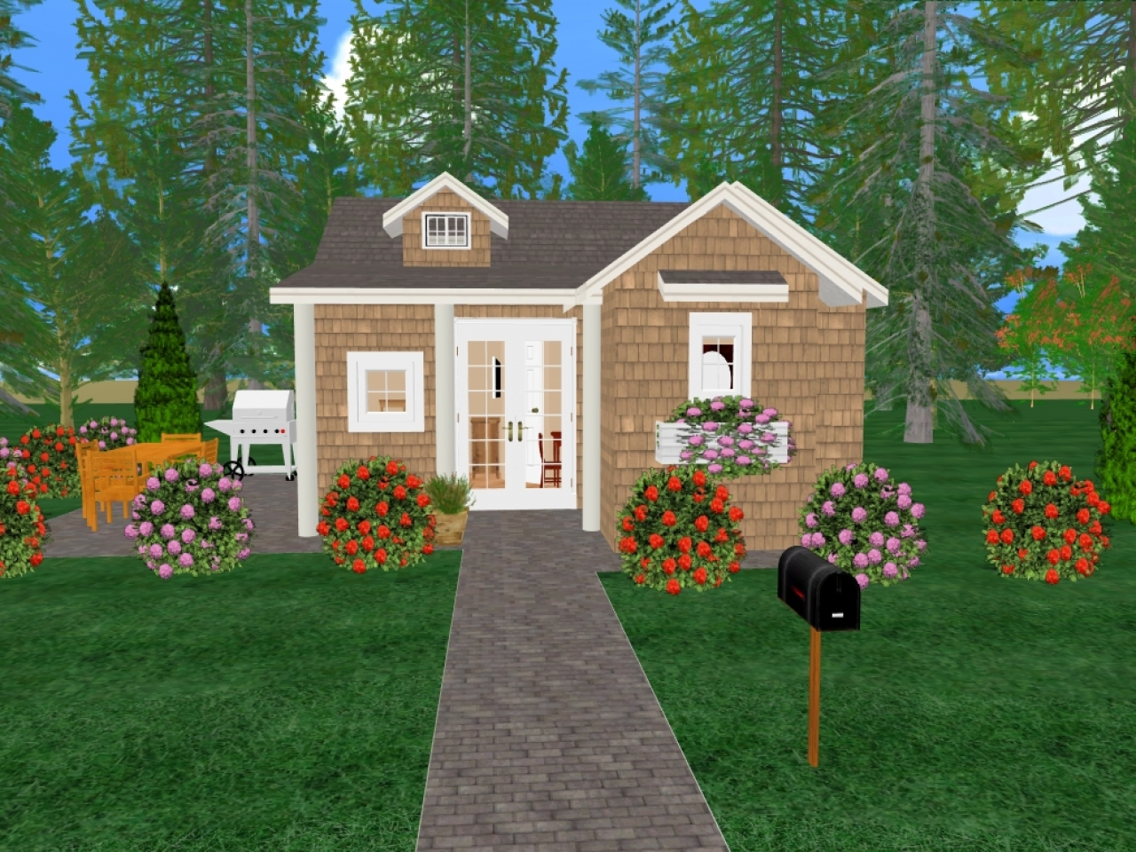 Small house plans concrete cozy small house plans cozy for Cozy home plans