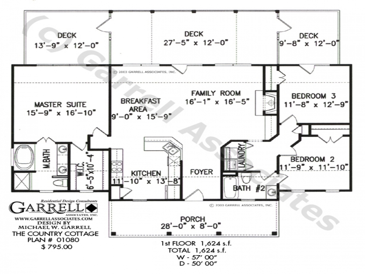 Cottage house plans with loft cottage house plans one for Cottage ranch house plans