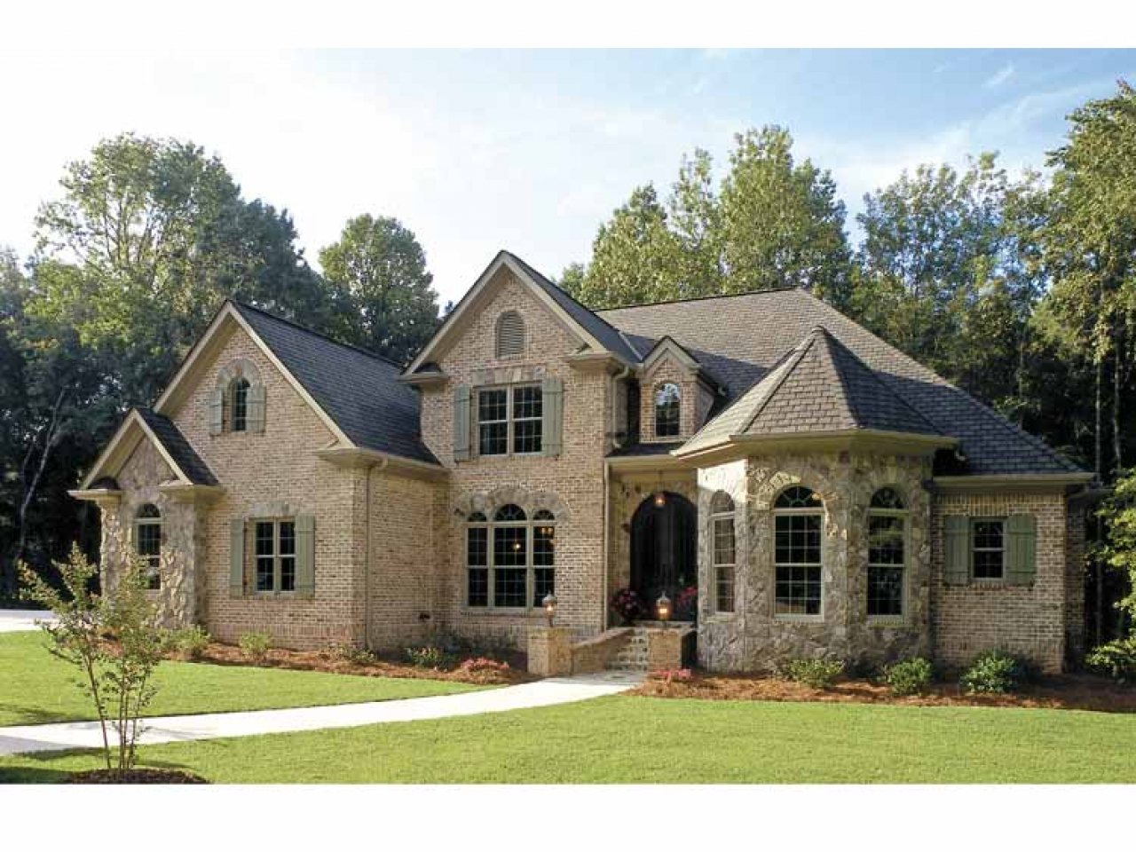 French country garden french country homes house plans for French country ranch home plans