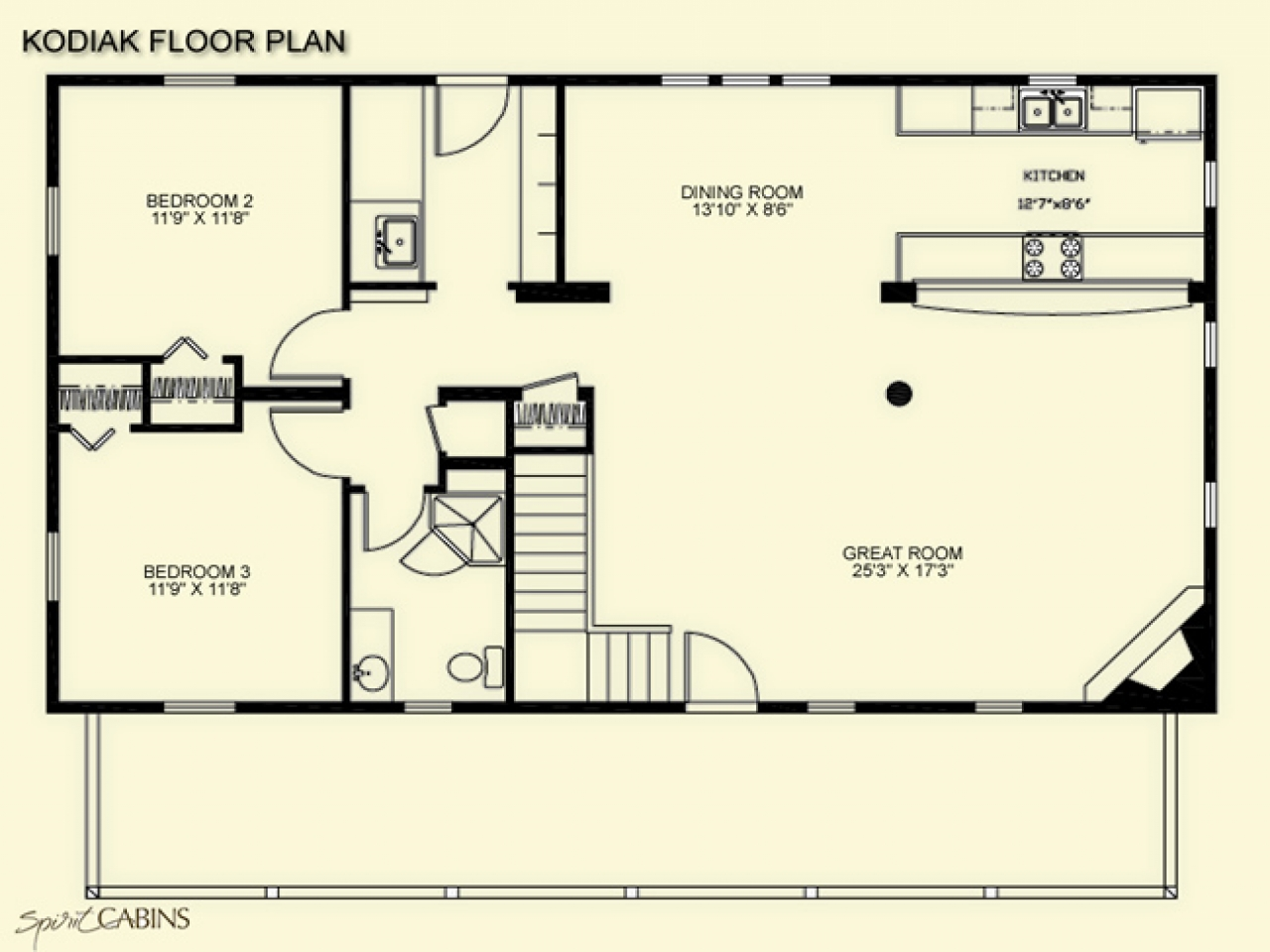Log cabin floor plans under 1500 square feet log cabin for 1500 square foot floor plans