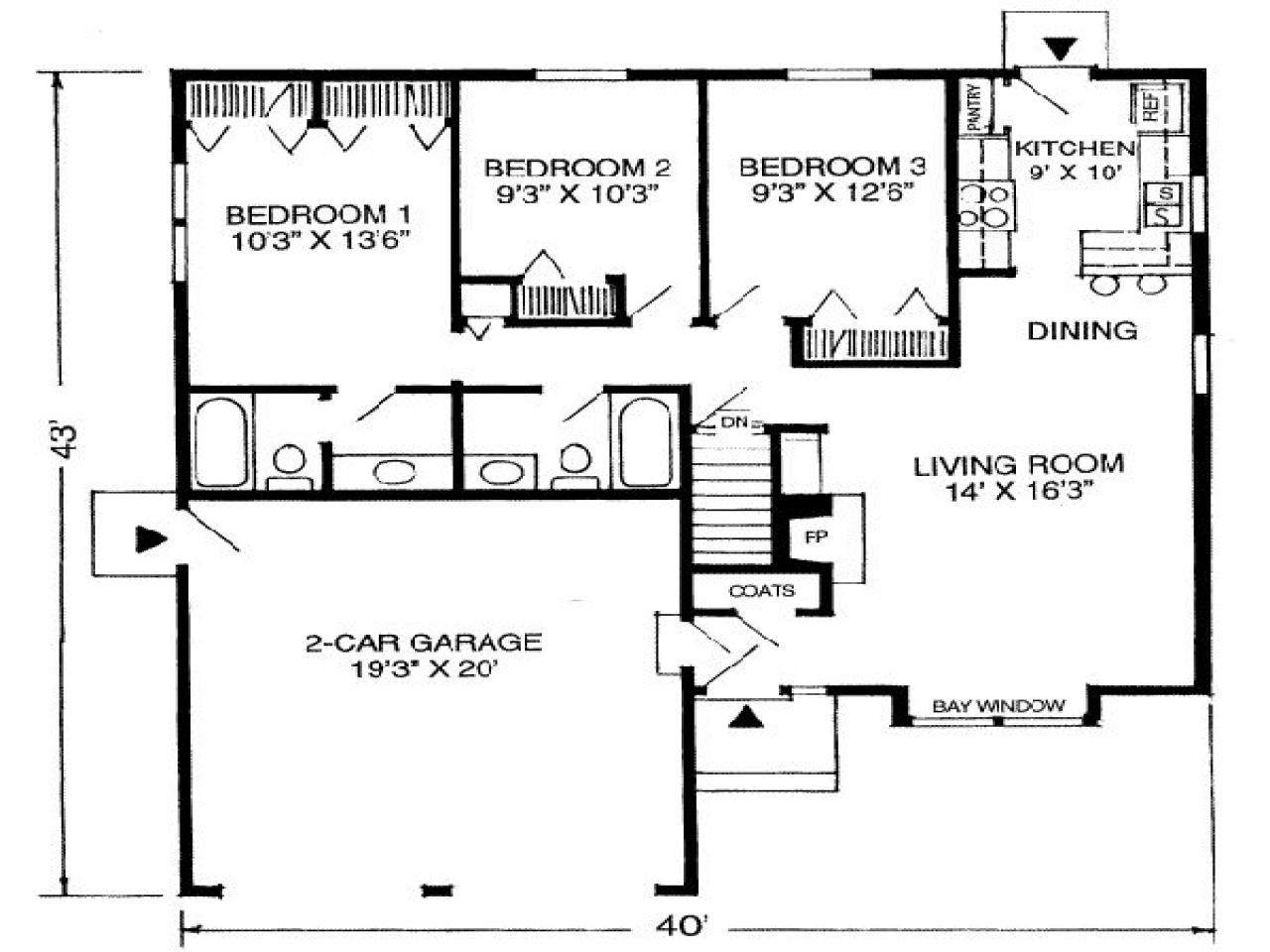 That houses a 1600 square feet 1100 square feet house for 1100 square feet house plans