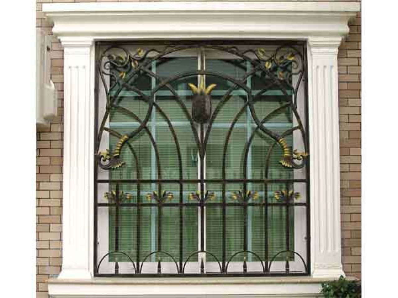 Www images of steel window modern steel window grills for Window grill design catalogue 2016
