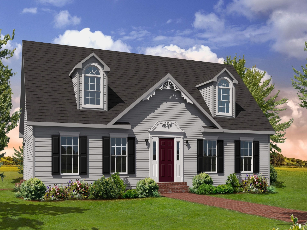 Cape style modular homes cape style homes floor plans for Cape modular home plans
