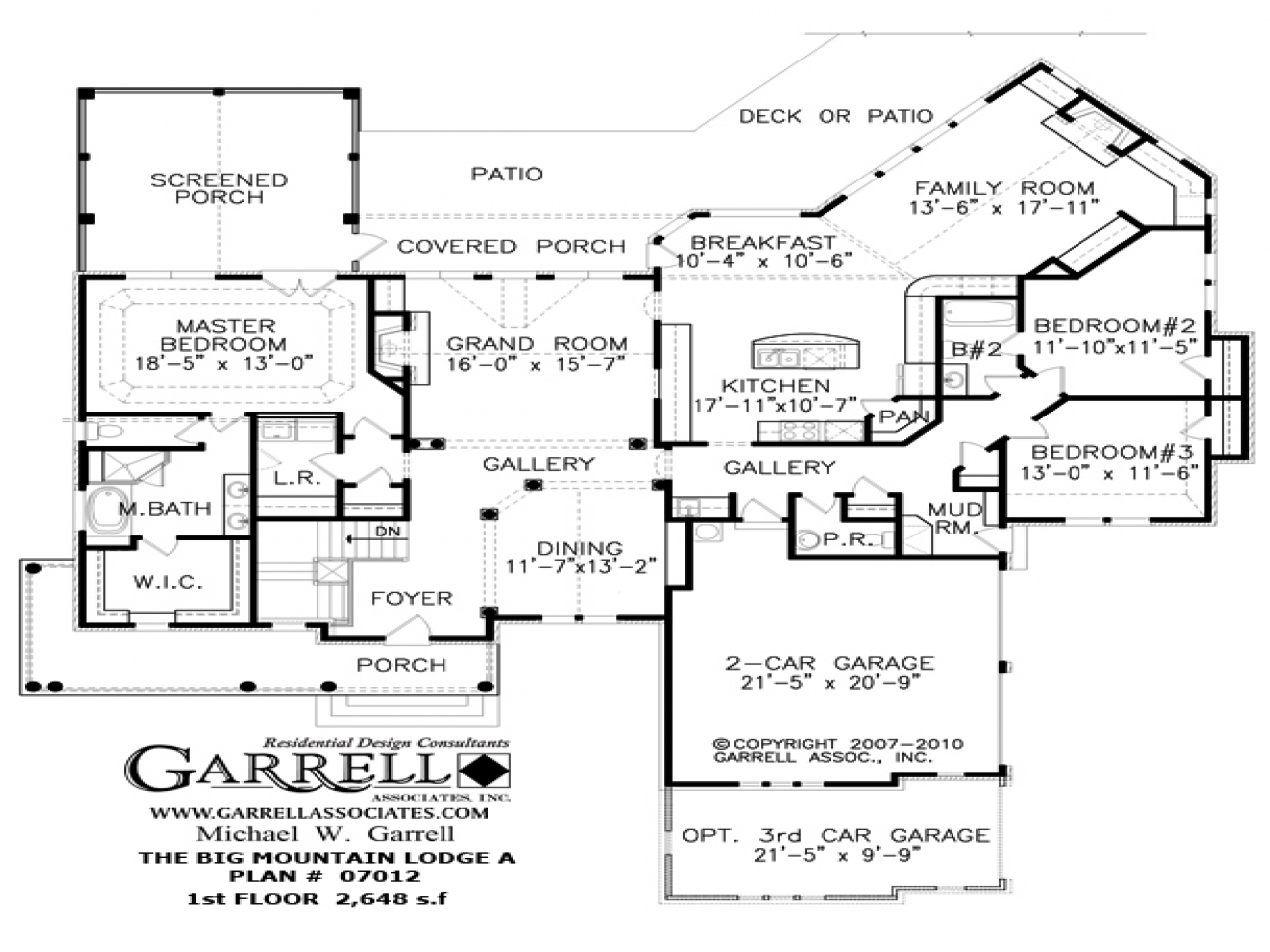 Mountain view house plans mountain house floor plan for Mountain house floor plans