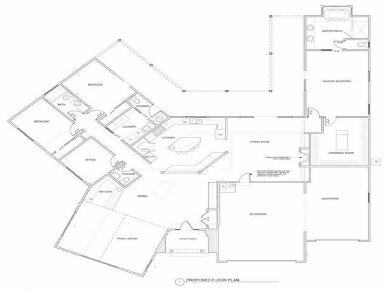 Ranch house plans with open floor plan ranch house plans for Ranch home plans with loft