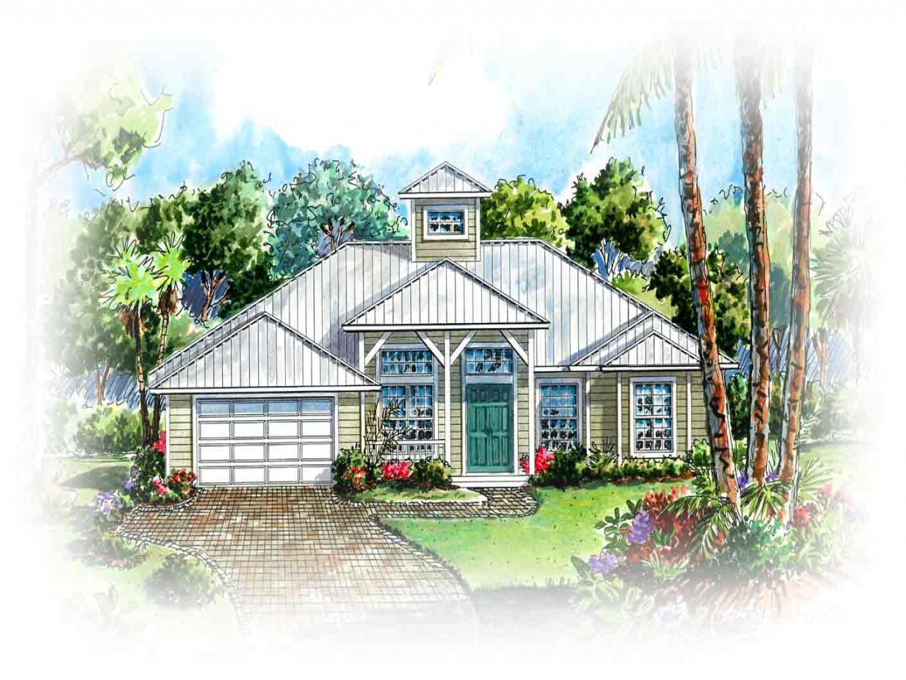 Cracker style homes old florida style home plans old for Old style house plans