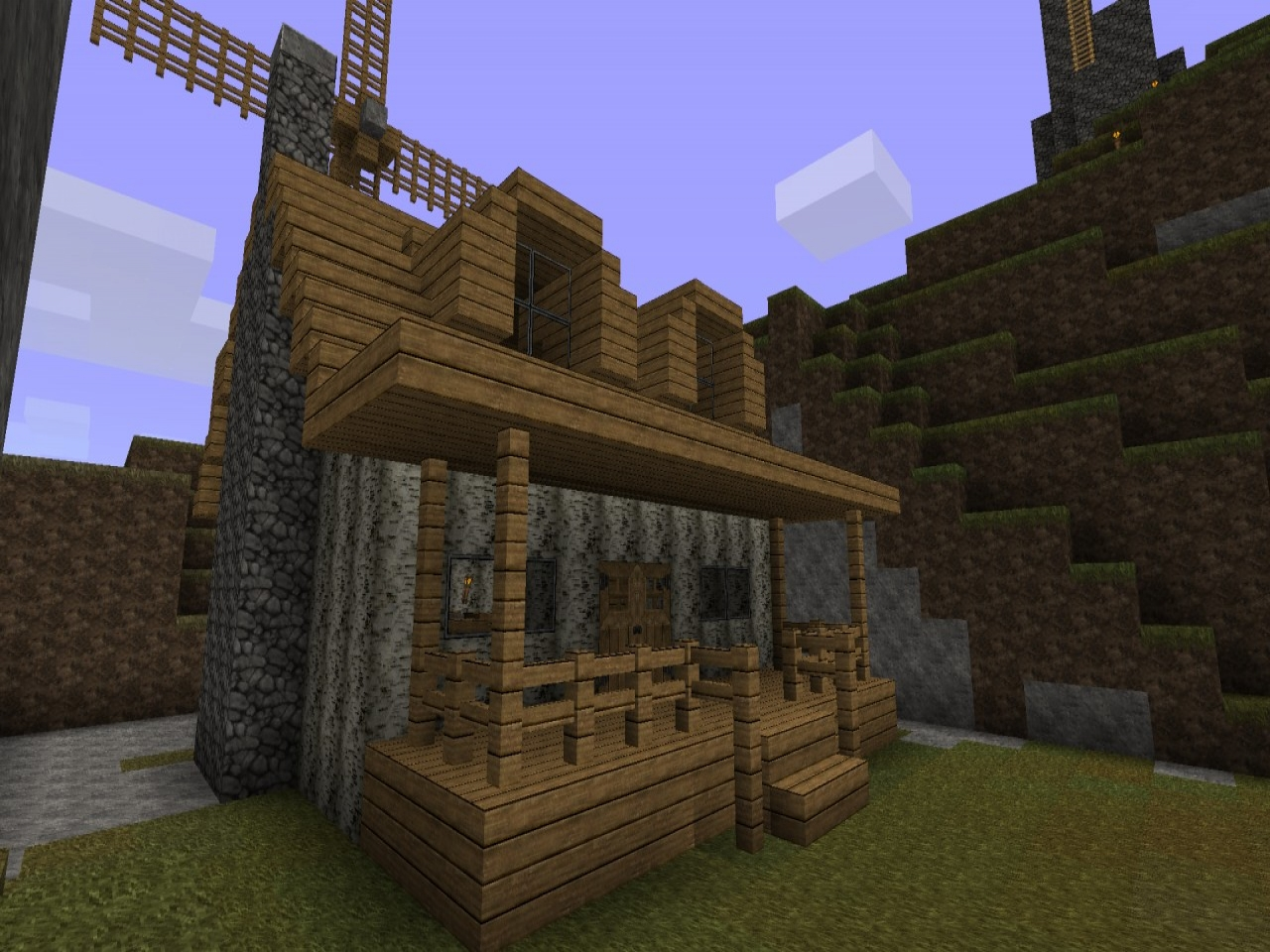Minecraft Cottage Blueprints Minecraft Cottage Tutorial