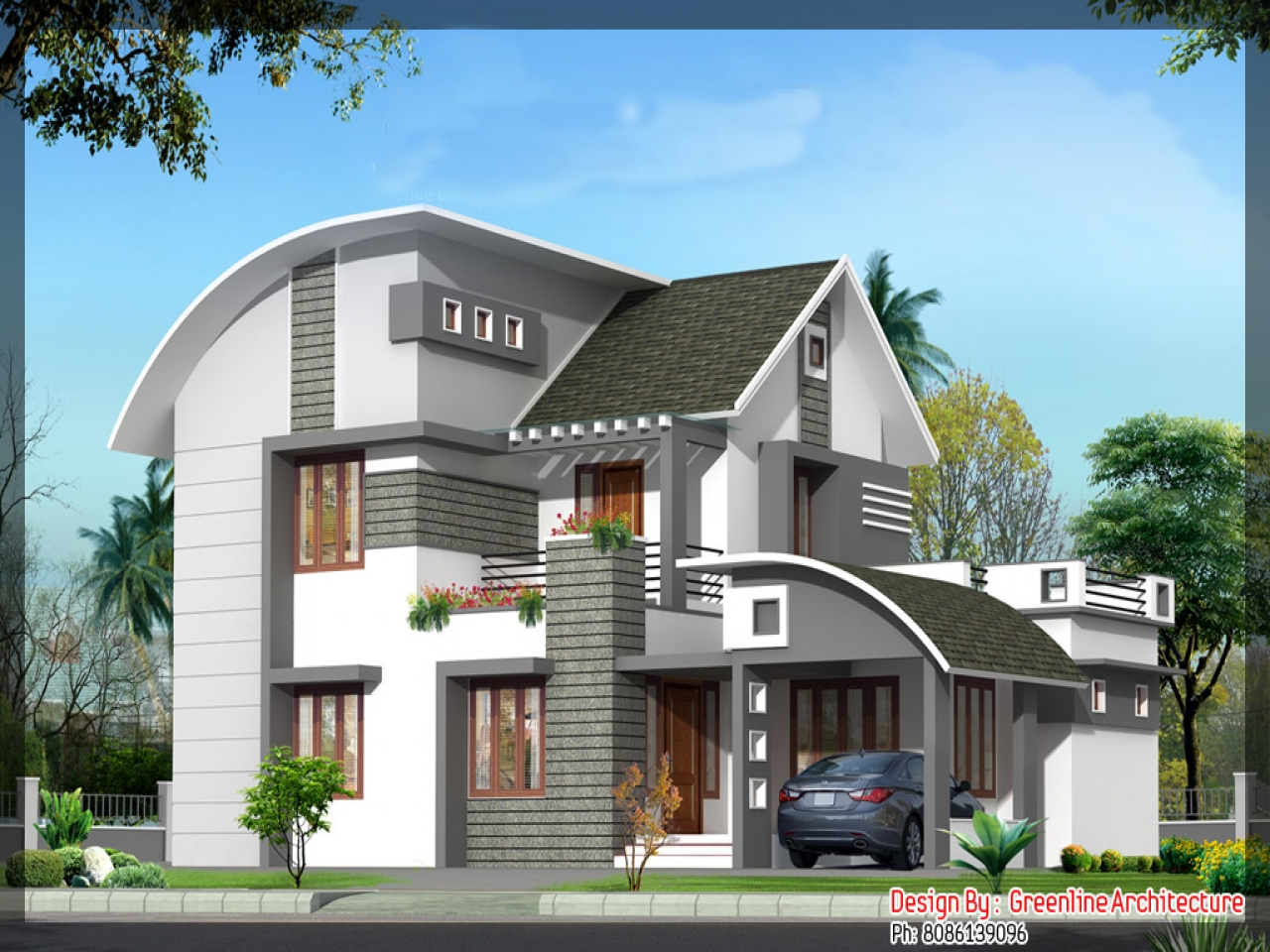 New design house plans newest home plans new house plans for New home designs in india