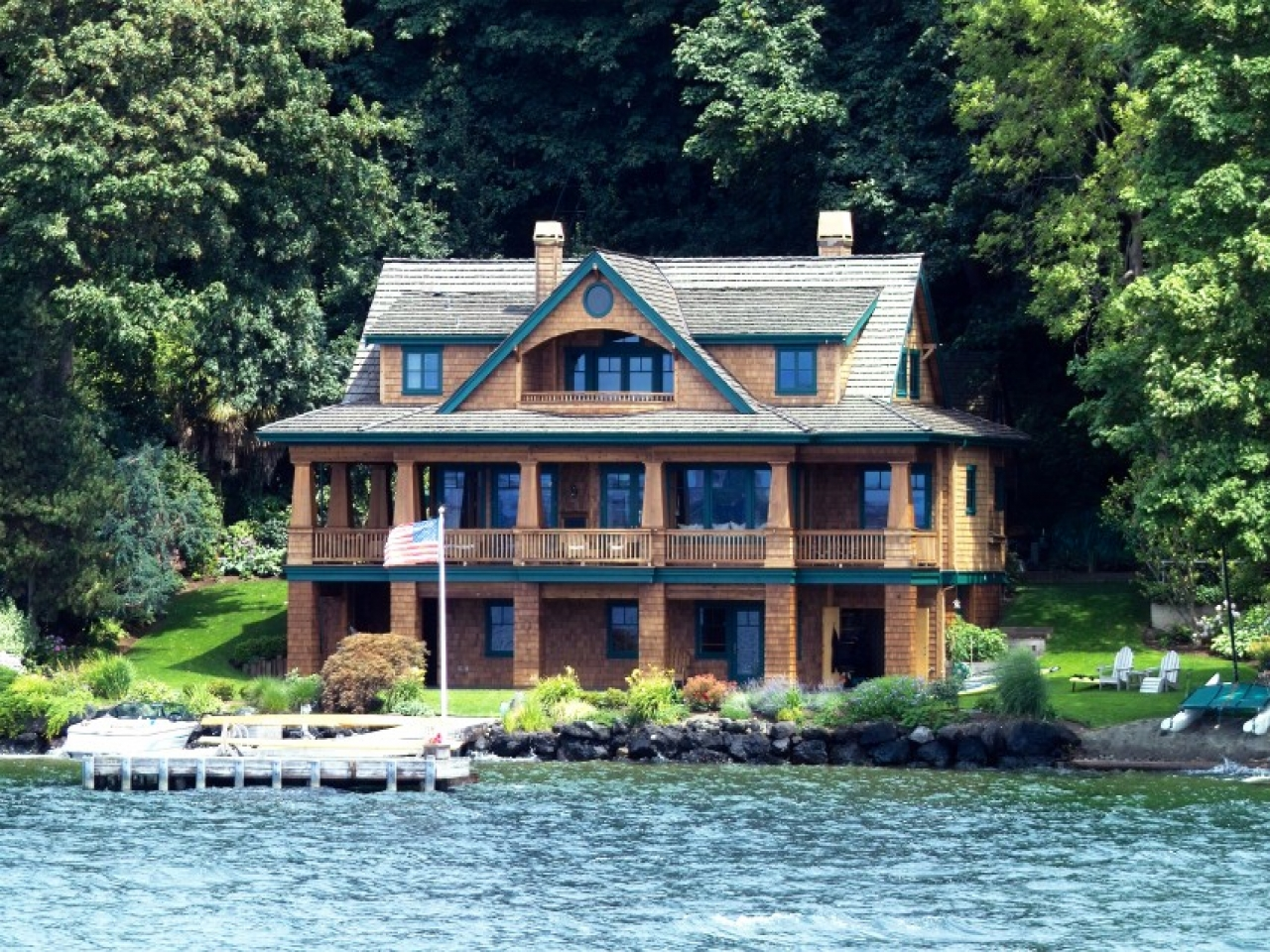 Lake house luxury home designs nice lake house unique for Luxury lake house