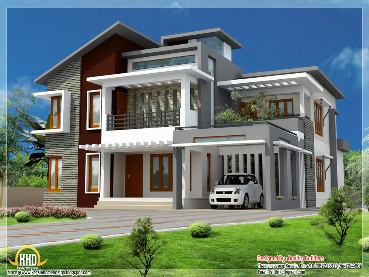 Modern style house design modern tropical house design for Modern house decor